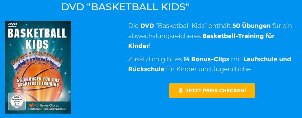 Basketball DVD - Übungen für Kindertraining