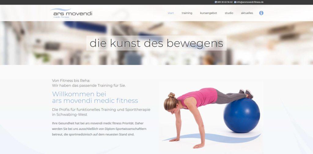 Fitnessstudio münchen nord ars movendi