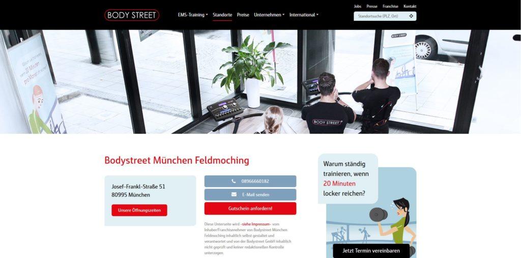 fitnesstudio münchen nord body street