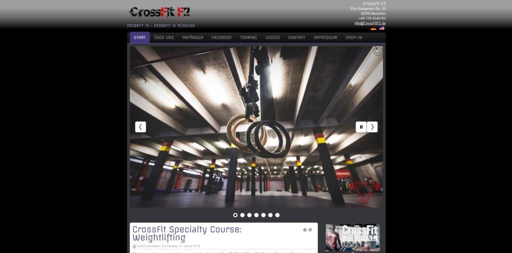 Fitnesstudio München Nord Crossfit F2