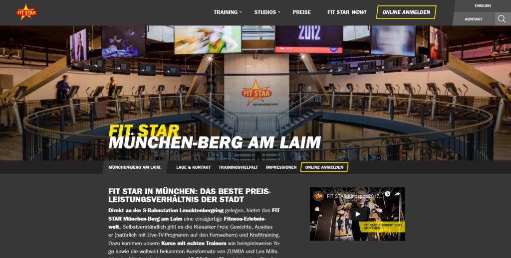 Fitnessstudio München Ost Fit Star