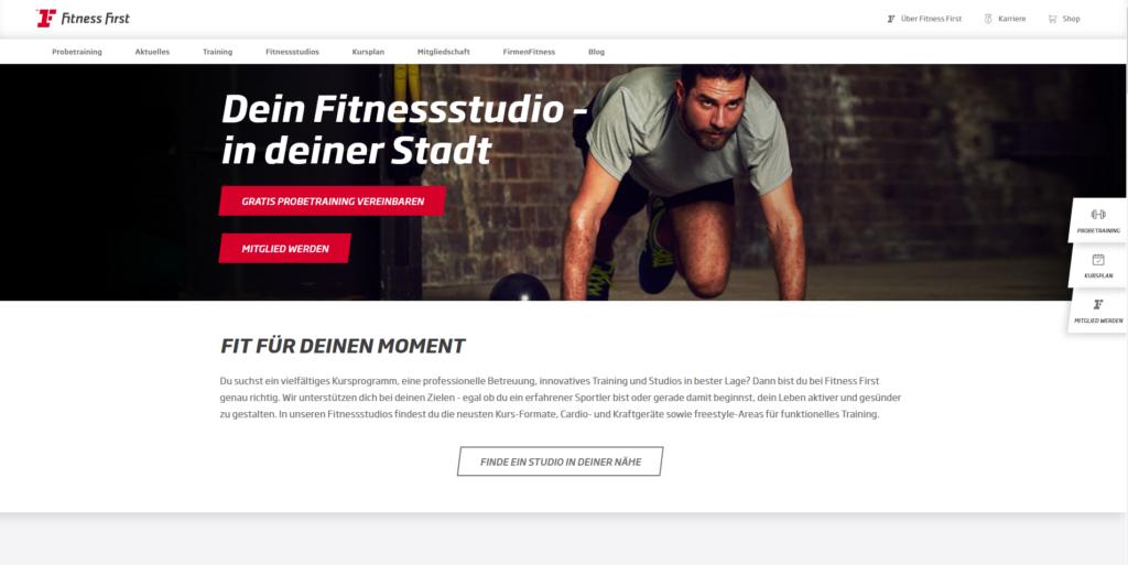 Fitnessstudio München Ost Fitness First
