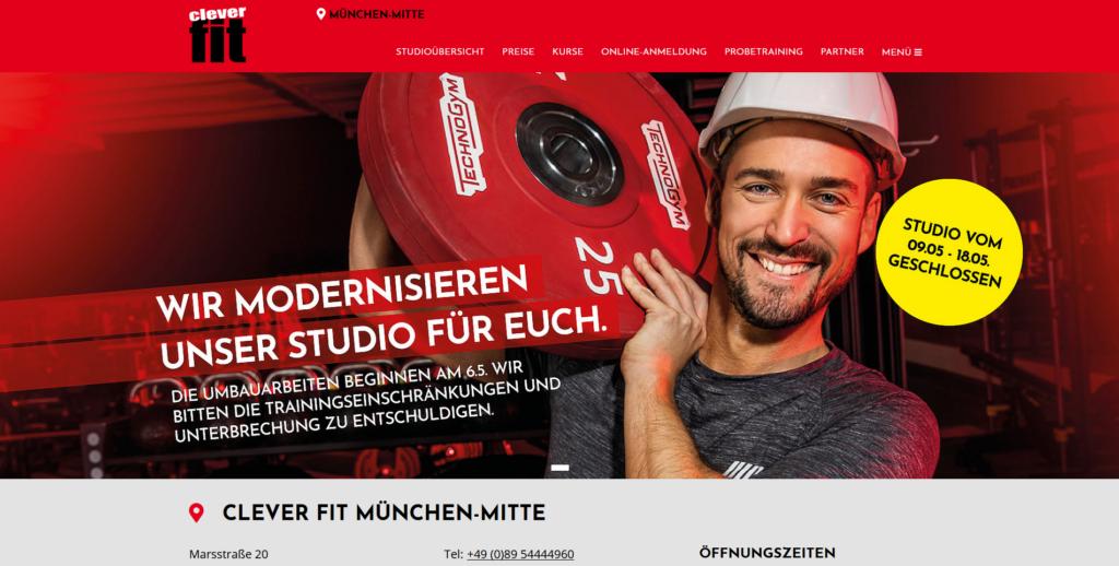 Fitnessstudio München Ost clever fdit_Marsstrafe