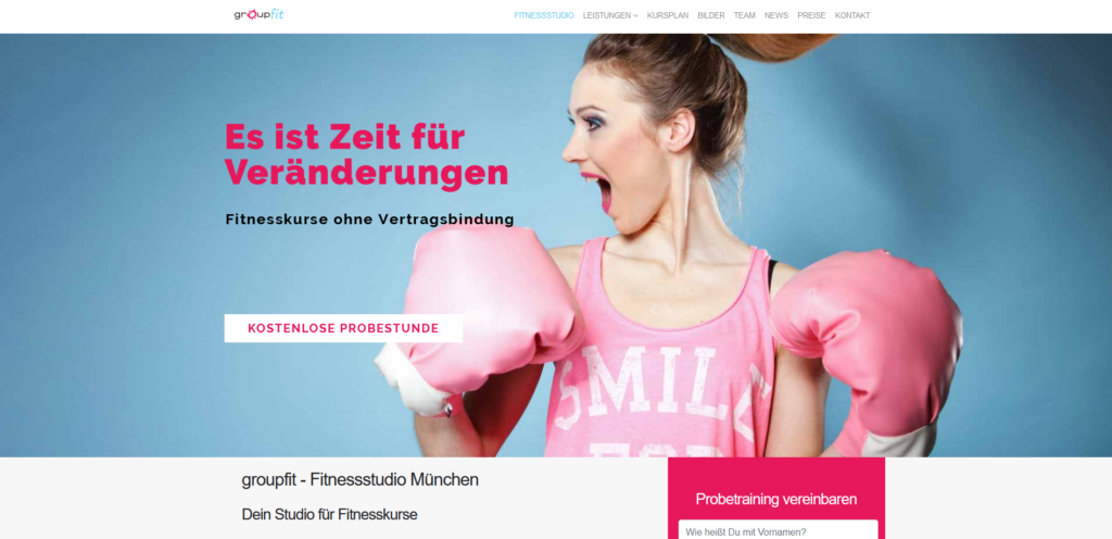 Fitnessstudio München Ost goupfit