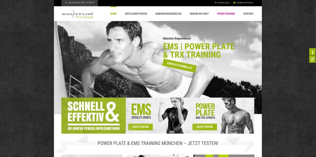 Fitnessstudio München Ost kontur fitness