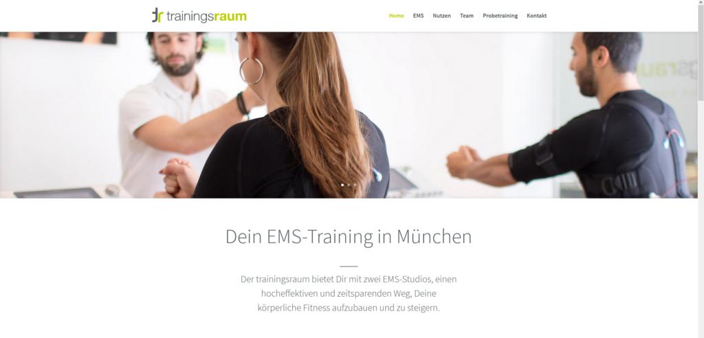 Fitnessstudio München Ost trainingsraum