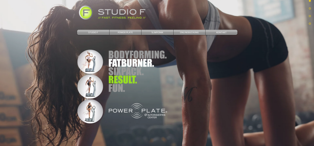 Fitnesstudio Schwabing STUDIO F