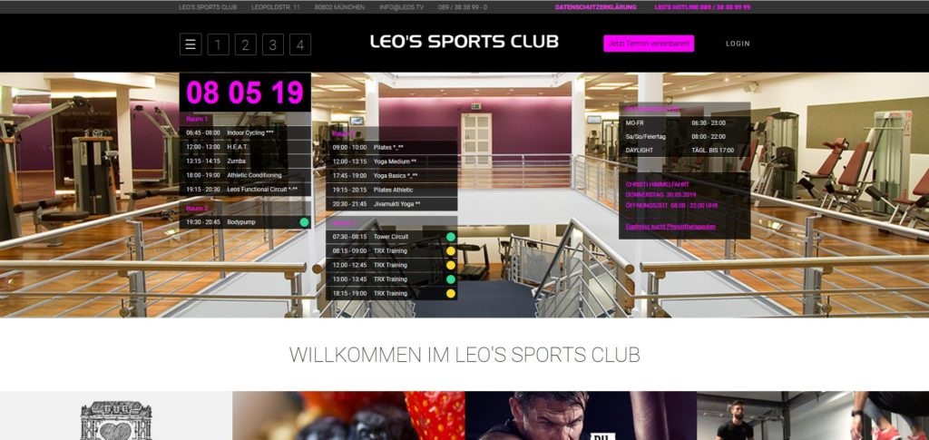 Fitnesstudio Schwabing LEO'S SPORT CLUB