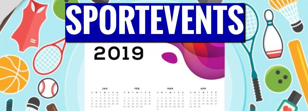 Die wichtigsten Sportevents 2019