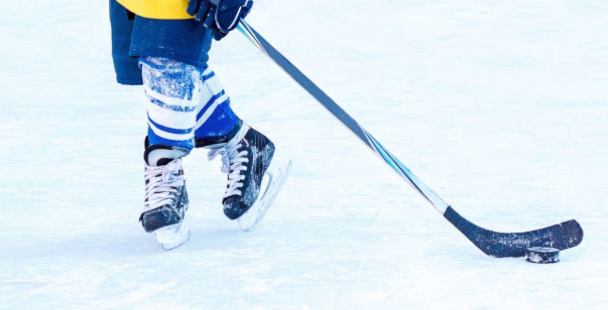 Wintersport Eishockey Spielen