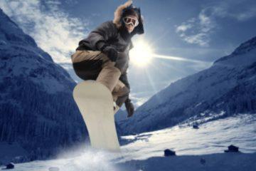 Wintersport Trend Snowboard