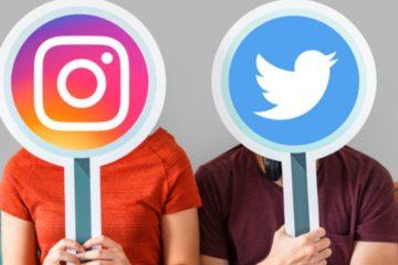 Sportinfluencer auf Instagram und Twitter