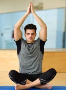 Yoga Kurs München - Mann