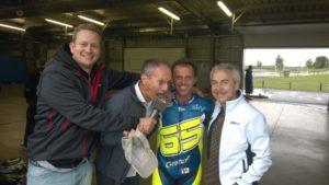 MotoGP mit Loris Capirossi, Christian Sarron und Dirk Raudies