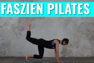 Faszien Pilates Training Übungen
